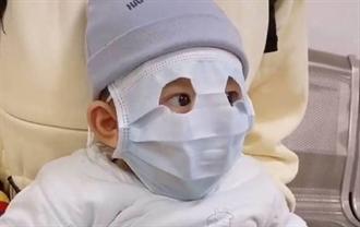 嬰兒沒口罩 桃議員請命 衛生局長:大人戴好戴滿