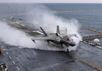 美國陸戰隊F-35B充滿魄力的起飛
