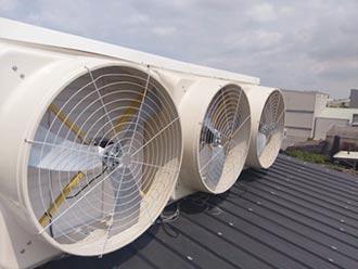 晉有變頻DC馬達 讓負壓風扇更省電