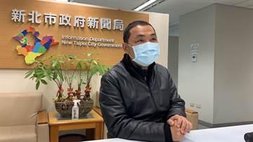 侯友宜:去過國家級警報點員工 自主管理14天