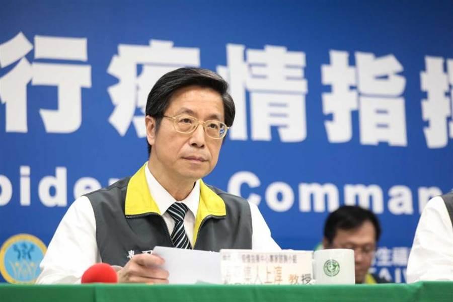 中央流行疫情指揮中心專家小組召集人張上淳。(圖/報系資料照)