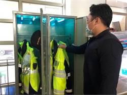 消防救護員改裝內務櫃 「紫外線殺菌櫃」照死病菌