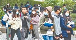 大學二階甄試防疫戰 教育部:可要求全程配戴口罩