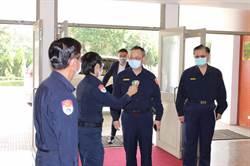 台中港警防疫超前部署 陳家欽慰勉讚賞