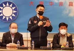江啟臣拜會台中市議會黨團 和市民站一起反空汙