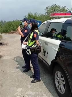 真正吵係郎?蔡正元PO影片 警察向無人公墓喊話防疫