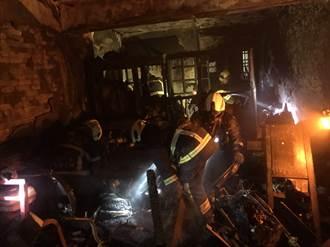 新北三重公寓火警 3人嗆傷送醫 起火屋主失聯