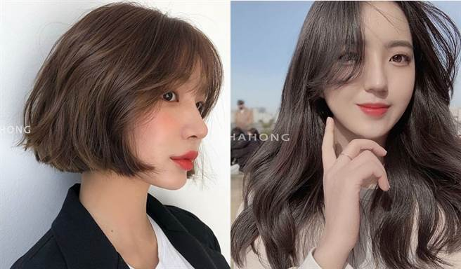 來看看2020年春季韓妞都染什麼髮色。(圖/IG@chahong_official)