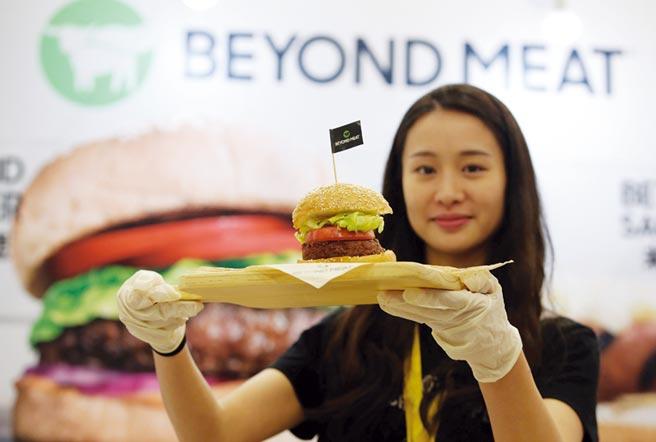 圖為Beyond Meat植物基人造肉製成的漢堡。圖/路透