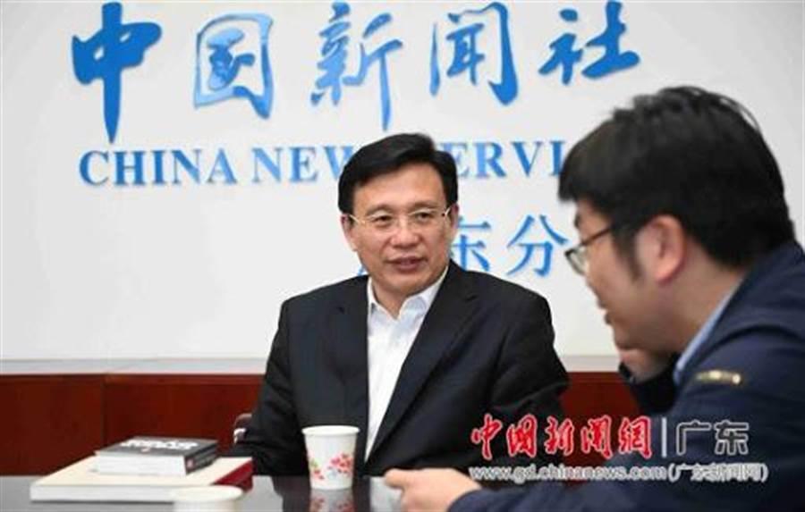傅華日前訪問中新社(中新社資料照)