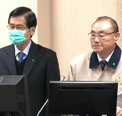 前後兩任國防部長 馮世寬、嚴德發立院首度同框備詢