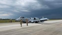 美國空軍A-10攻擊機 緊急迫降人員無礙