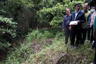林明溱會勘集集野溪及排水 力拚雨季前施工改善
