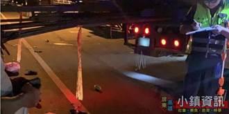 機車撞上聯結車 鋼筋插入頭顱慘亡