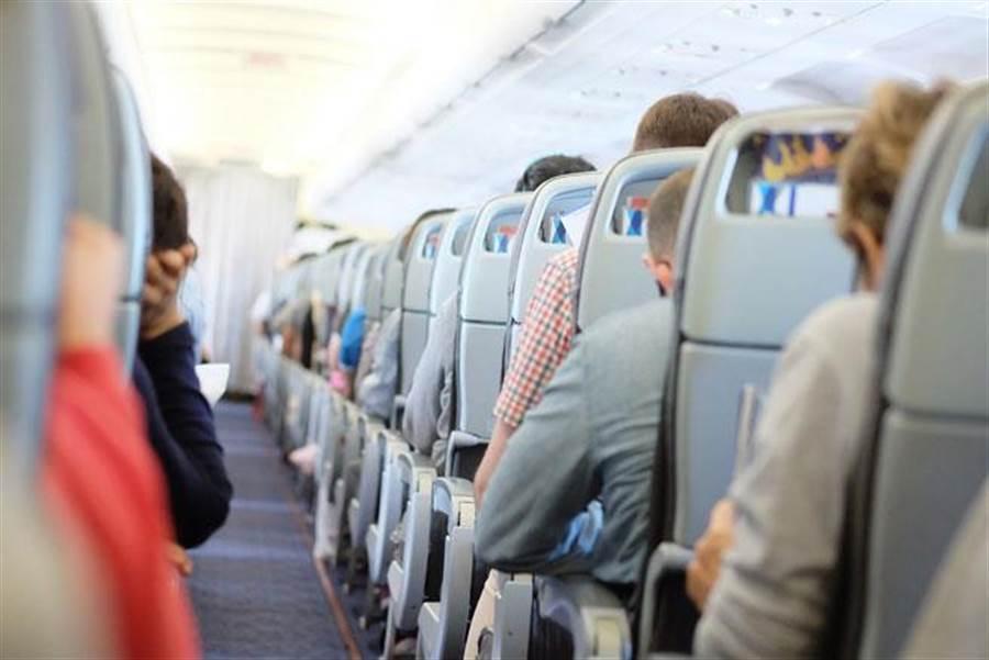 毒班機10人確診座位有玄機?醫曝感染關鍵是這個。飛機座位示意圖。(圖/達志影像)