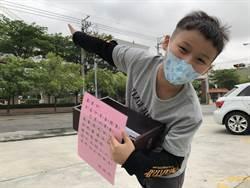 重病重生捐百副護目裝備 10歲童義賣送醫護喝咖啡