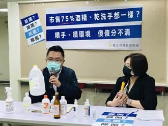 乾洗手噴霧非許可標「殺菌、滅菌、消毒」 最高罰2500萬元