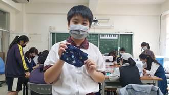 自造教室應景 祥和師生自製口罩、口罩套