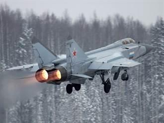 俄空軍戰機北極海演習 MiG-31竄升至17000公尺高