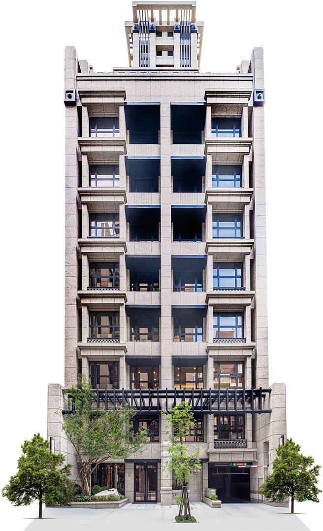 中山北路國賓飯店旁新成屋案「中山.雋」推出全戶輕裝潢購屋專案。圖/業者提供