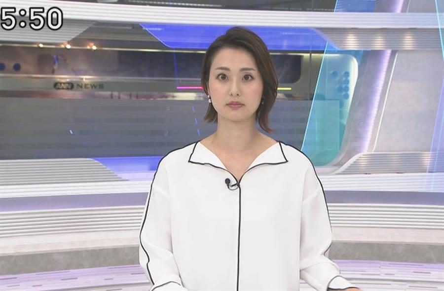 本間智惠一件白衣引起熱議。(圖/翻攝自推特)