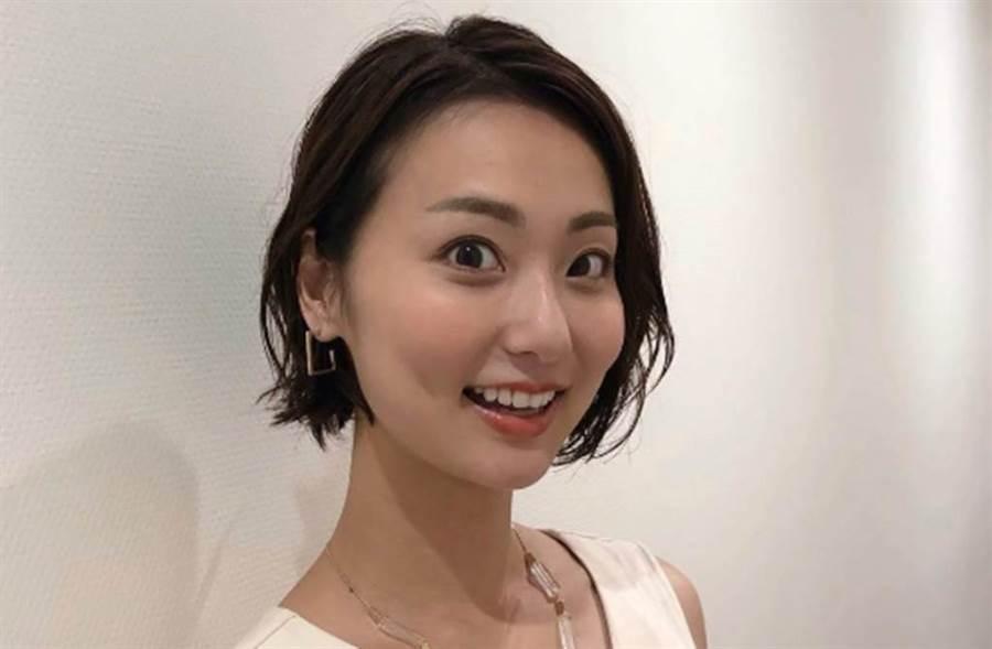 本間智惠是朝日電視台美女主播。(圖/翻攝自日網)