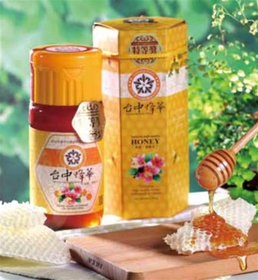 台中市政府農業局推廣台中優質蜂蜜,特舉辦評鑑、推動認證標章。(台中市政府農業局提供/陳世宗台中傳真)