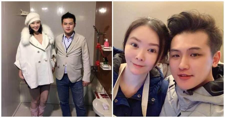 蕭淑慎和老公梁軒安相年紀相差14歲。(圖/蕭淑慎KittyHsiao臉書)