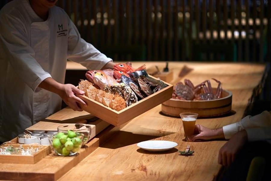 搶攻母親節餐飲商機,台北美福大飯店館內各餐廳包括「晴山」日本料理,都設計推出了母親節大餐。(圖/台北美福大飯店提供)