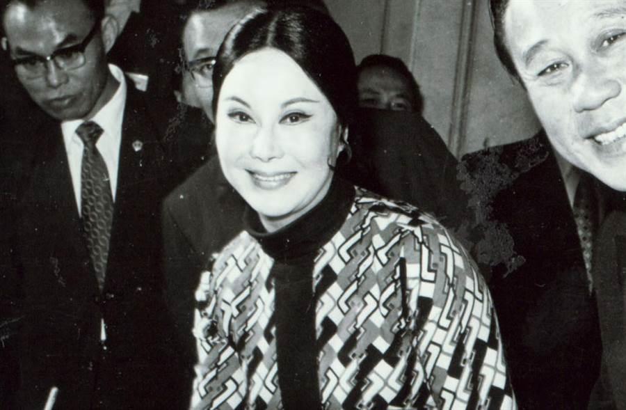 李麗華被封為「亞洲的伊莉莎白泰勒」。(中時資料照片)