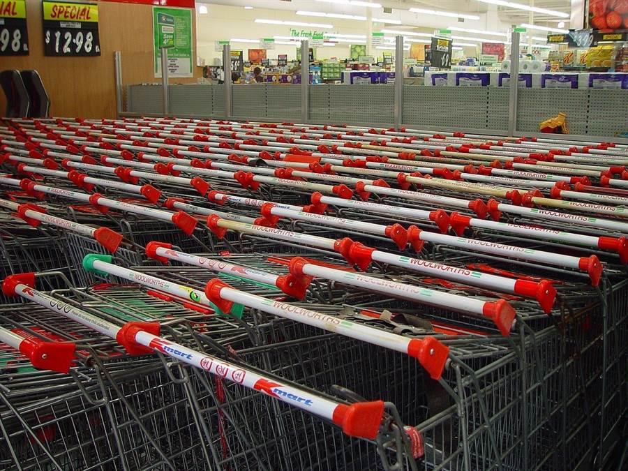 購物車把手是最多人接觸的部位。(圖片來源:pixabay)