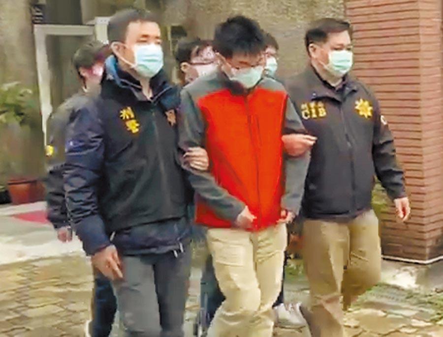 警方將陳、莊兩嫌依違反著作權法移送法辦。(翻攝照片/林郁平台北傳真)