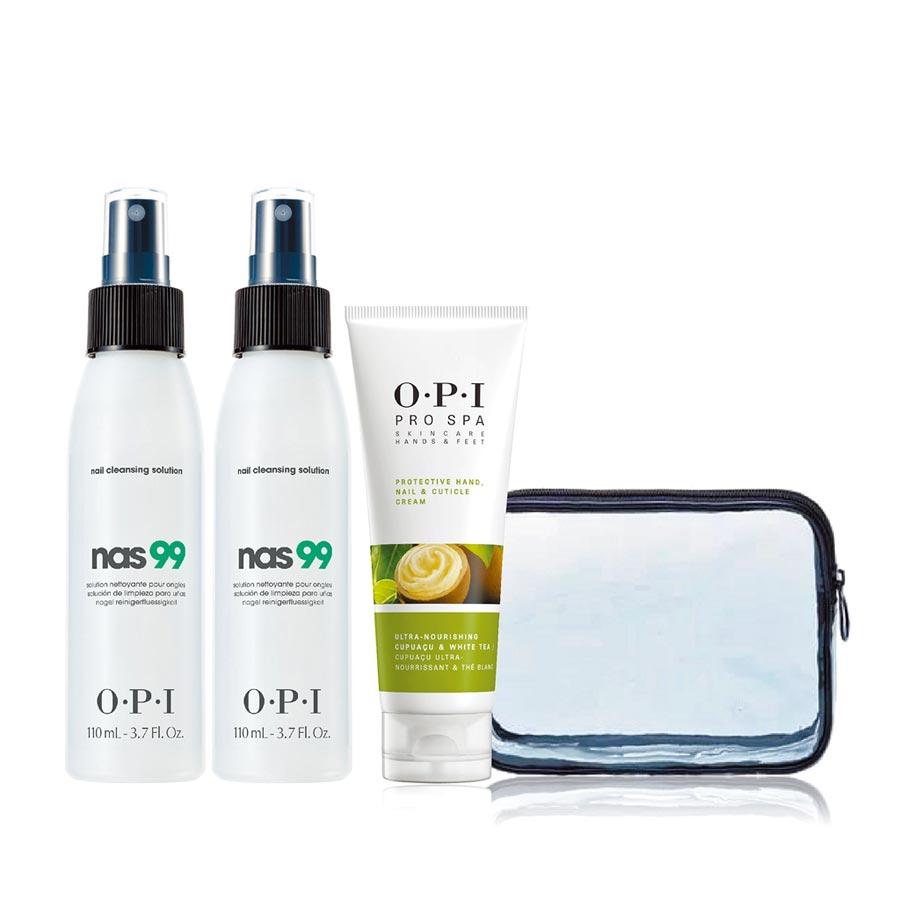 OPI極效防疫保養組暖心價,1720元。(OPI提供)