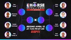 NBA》另類對決!HORSE對戰戲碼出爐