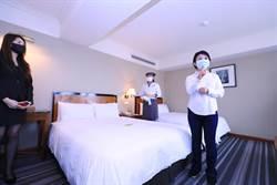 防疫伸援手! 中市首創旅館按「停用營業面積」減稅紓困