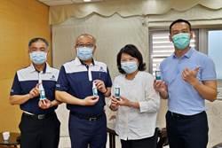 秀泰影城捐贈乾洗手液 力挺嘉義市醫護人員