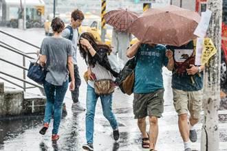 周末又變天!雷雨襲台低溫11度 一張圖秒懂天氣變化趨勢