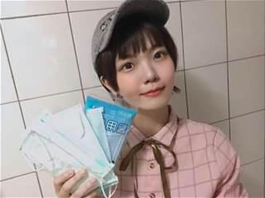 日本女子將在台灣買不到口罩哭泣,卻獲得一堆人爭送口罩的故事,投書到日本最大報紙讀賣巨人。