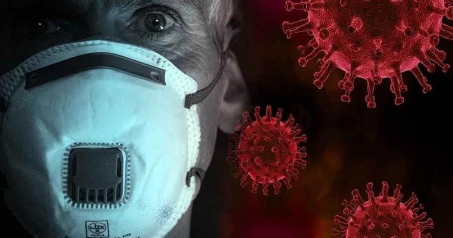 新冠肺炎病毒變異3型 ,B型大陸最常見。(圖/Pixabay)