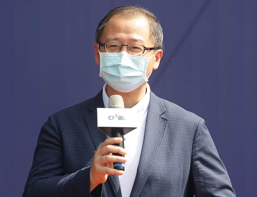 中職會長吳志揚希望球團與聯盟互相尊重,有話好好講。(資料照片/季志翔攝)