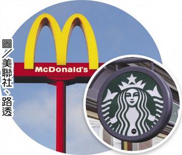 民眾避免外出用餐 麥當勞、星巴克業績慘