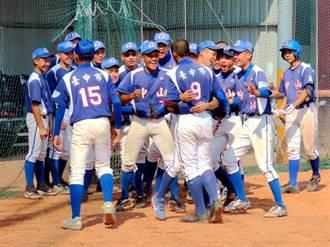 強棒出擊!中市中山國中棒球隊睽違26年再次挺進冠軍戰