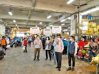 竹市防疫宣導隊 大聲公籲戴口罩