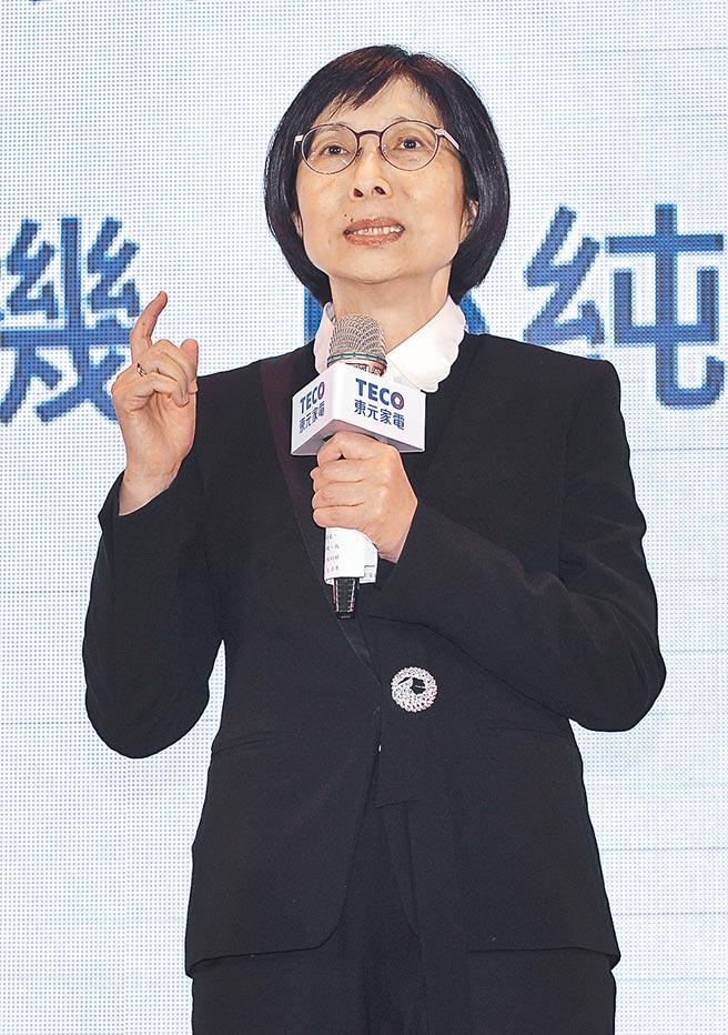 東元董事長邱純枝。圖/本報資料照片