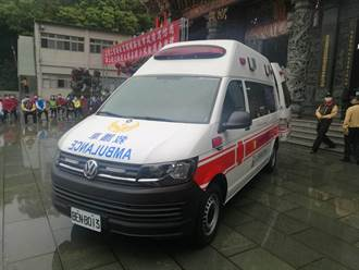 新北五股三重安北宮捐贈高頂救護車 回饋社會造福鄉梓