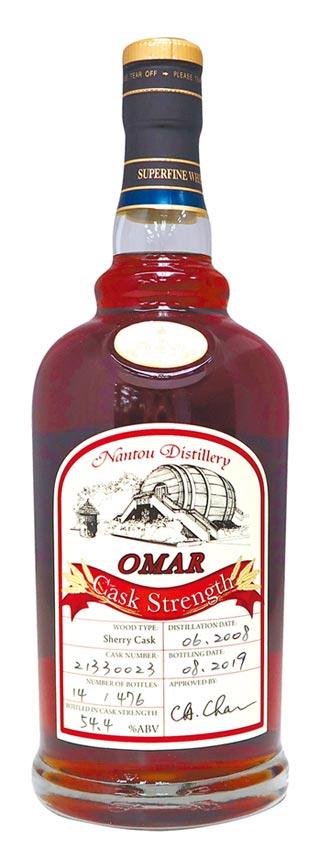 OMAR威士忌 世界大賽獲獎連連