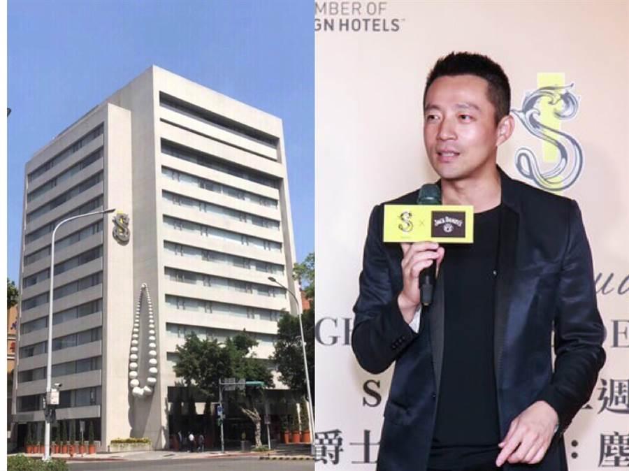 大S老公汪小菲經營的S Hotel加入台北市防疫旅館。(摘自微博)