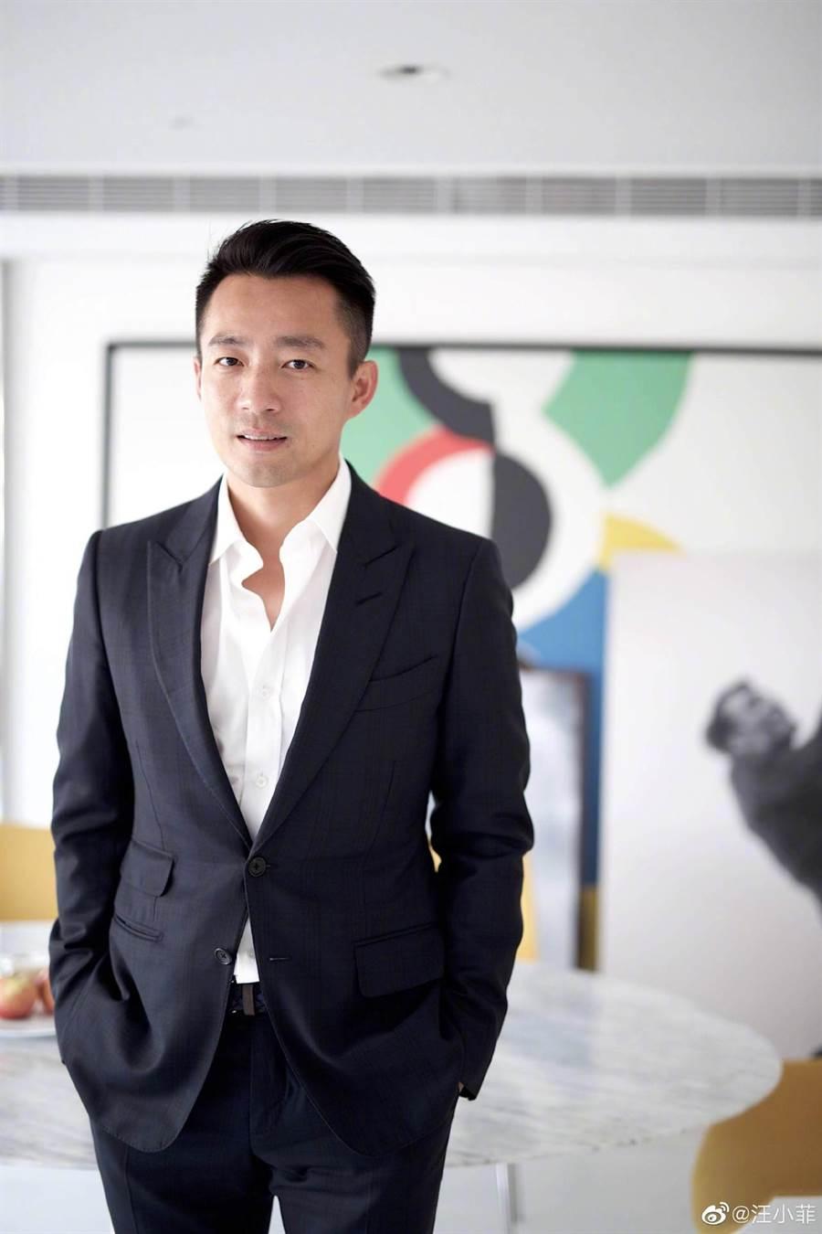 除了是大S的老公,汪小菲也是成功經營者。(摘自微博)