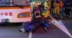 23歲女騎士下班遭公車輾斃 肇事司機:沒看到有人
