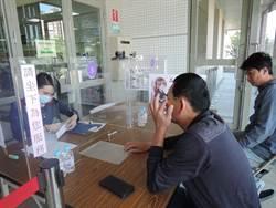 朴子公所今啟動「戶外洽公區」 人員走出室內為民服務